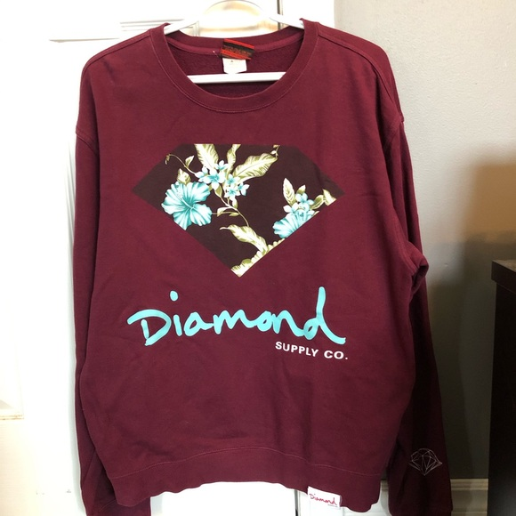 Diamond crew neck (men's medium)
